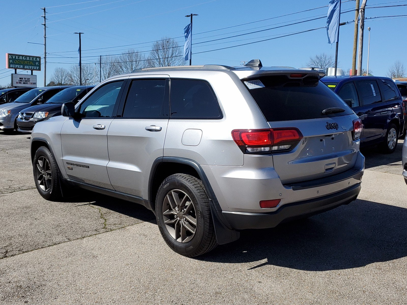 Pre-Owned 2016 Jeep Grand Cherokee 75th Anniversary Edition