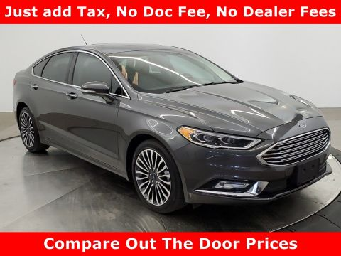 Pre-Owned 2017 Ford Fusion AWD