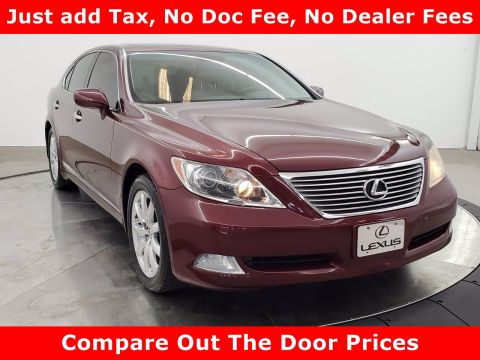 Pre-Owned 2009 Lexus LS 460 4DR SDN RWD