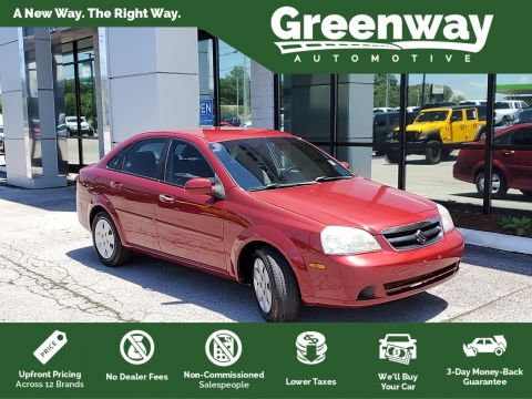 Pre-Owned 2008 Suzuki Forenza Convenience